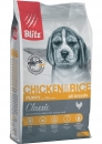 Сухой корм для собак Blitz Classic Chicken & Rice Puppy All Breeds