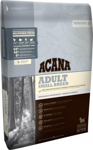 Acana adult small breed (линия Heritage)