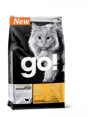 GO!Sensitivity + Shine Grain Free Duck Cat