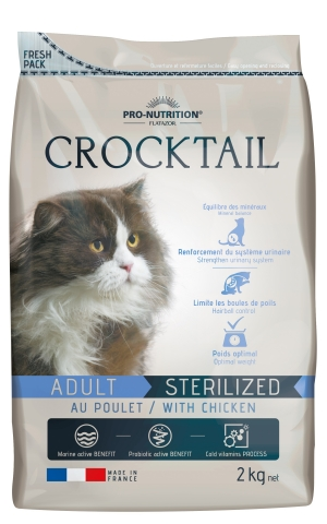Flatazor Crocktail Sterilised/Light chicken
